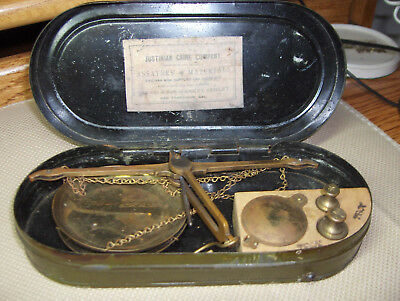 Alaska Gold Rush, Miners Pocket Gold Scale, C.1895, Justinian Caire, By Troemner