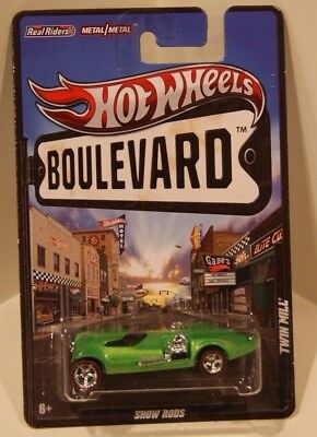 Twin Mill Hot Wheels Boulevard SHOW RODS Real Riders Metal/Metal