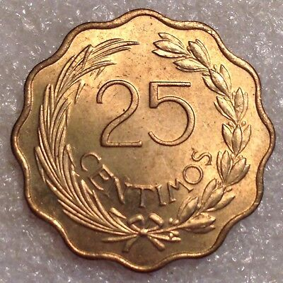 Paraguay 25 Centimos 1953