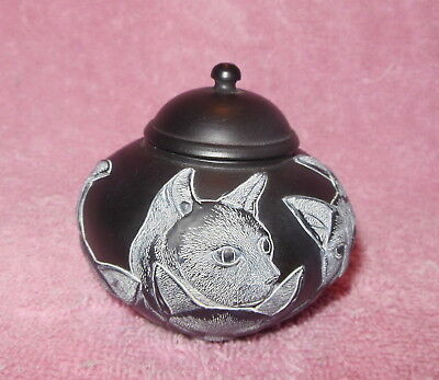 Harmony Ball Jardinia Cats Carved Relief Mini Ginger Jar 'une Maison Sans Chat'