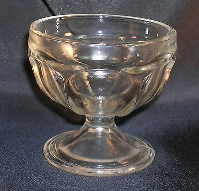 Vintage Avon Glass Egg Cup Votive Candle Holder