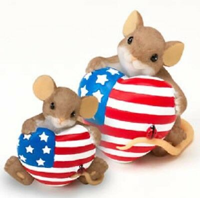 Charming Tails A Proud Heart Mice Figurine 4020500*Brand New In Box*retired*