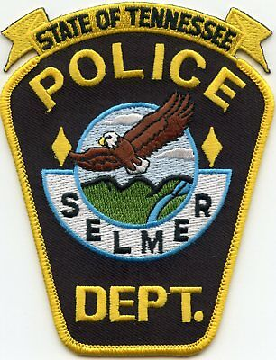 Selmer Tennessee Tn Police Patch