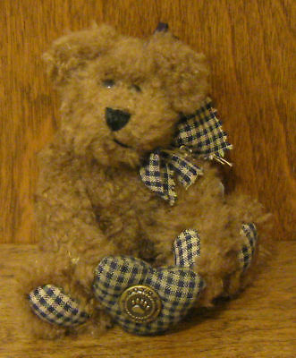 Boyds Plush Ornament #56201-06 BILLY BOB, New/Tag From Retail Store 5""