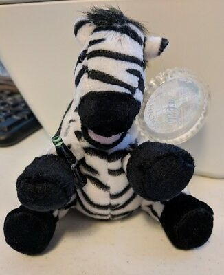 """1999 Coca-Cola Topus The Zebra Nigeria International Collection With Tags 8"""""""