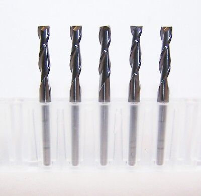 "1//8/"" ENDMILLS FOR WOOD 10695 2 FLUTE CARBIDE ROUTERS .1250"