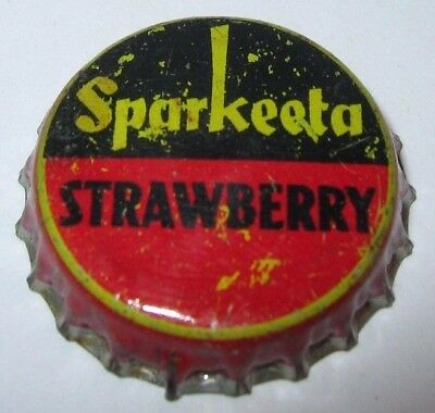 Sparkeeta Cola Soda Pop Bottle Cap; Los Angeles, Ca; Used Cork