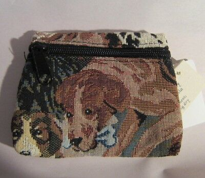 Tapestry Fabric GERMAN SHORTHAIR POINTER Zippered Coin Purse