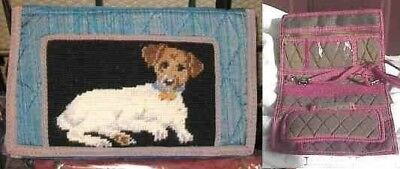 NP Wallet Purse JACK RUSSELL Needlepoint Purse/Wallet CLEARANCE