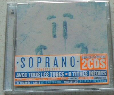 COSMOPOLITANIE en route vers l'Everest - SOPRANO  (CD x2)  NEUF SCELLE