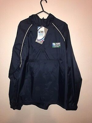 Mens England Rugby World Cup 2015 Navy Rain Jacket Uk M Bnwt