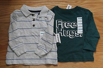 Lot of two Old Navy baby boy Shirts size12-18mo