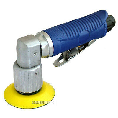 MINI DA DUAL ACTION 15000rpm ORBITAL AIR SANDER WITH 2 SANDING PADS + 10 DISCS