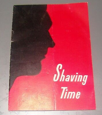 vintage advertise brochure leaflet Schick shaving company machine USA razors