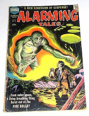 Alarming Tales #2 Silver Age 10 Cent - Kirby - Old School Harvey Comic 1957