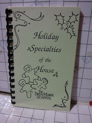 Thanksgiving Christmas HOLIDAY SPECIALTIES recipe cookbook Bryn Mawr Hospital PA