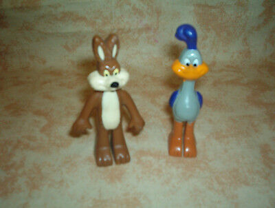 "Super Great Set - Road Runner 3 "" Tall /wiley Coyote 3 "" , Mint Item !"