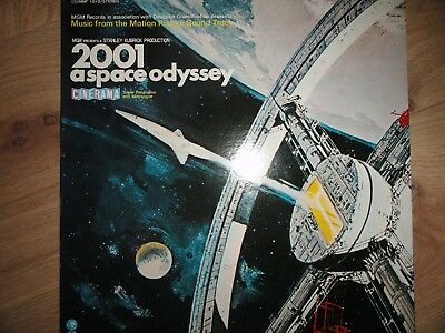 2001 A SPACE ODYSSEY - Music From Motion Picture - LP Polydor K.K./ MGM JAPAN