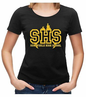 Sunnydale High School Buffy The Vampire Slayer T-Shirt Damen T-Shirt Fanshirt