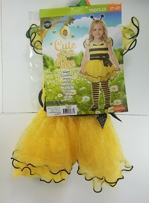 Halloween Costume Cute As Can Bee Toddler (3T-4T) Bumble Bumblebee Outfit  GF