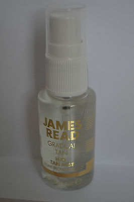 James Read Gradual Tan H2O Tan Mist spray travel size 30ml RRP 150ml £20