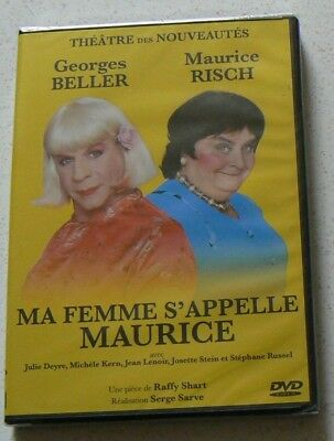 Ma Femme S'appelle Maurice - Georges Bellier Maurice Rish (Dvd)  Neuf Scelle