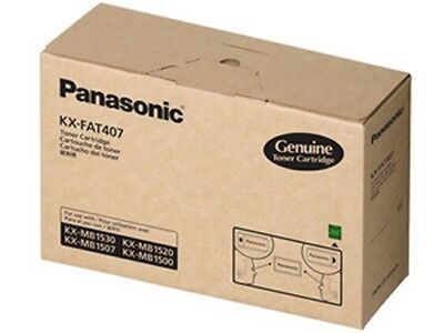Panasonic KX-FAT407 Laser Toner Cartridge For KX-MB1500/KX-MB1520 Series
