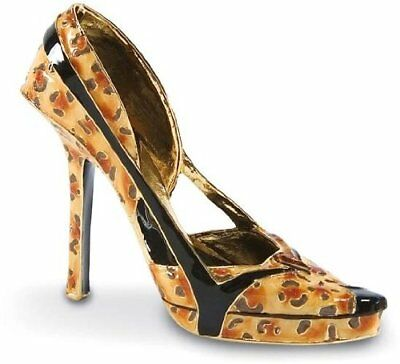 Just the Right Shoe *WILD THING*Exclusive Leopard Print Mini*811396*RETIRED*