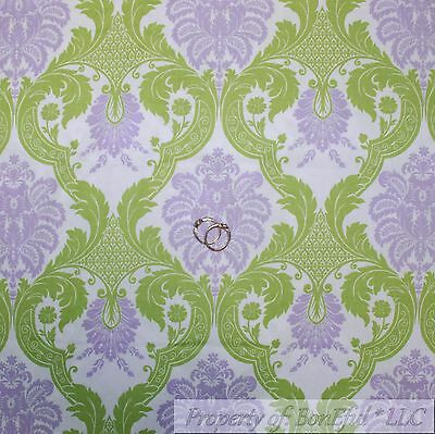 Antique world travel map nautical ocean chart cartography cotton boneful fabric fq cotton quilt white purple green leaf flower old world damask l gumiabroncs Gallery