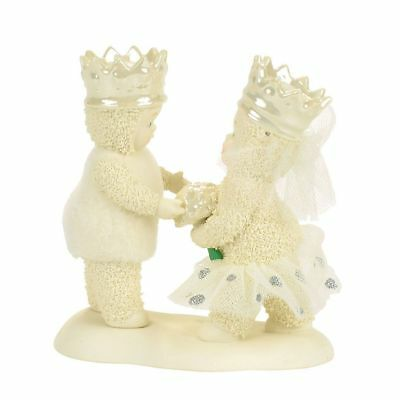 Dept 56 Snowbabies Snow Dream New 2017 WILL YOU BE MY QUEEN? Snowbaby 4057376