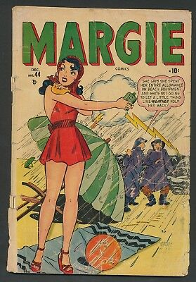 Margie Comics #44 - Timely/Atlas precode GGA incomplete