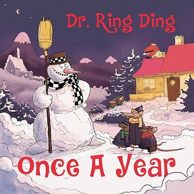 """DR. RING-DING * Once A Year - 13 Christmas Songs  LP + 7"""" + mp3"""