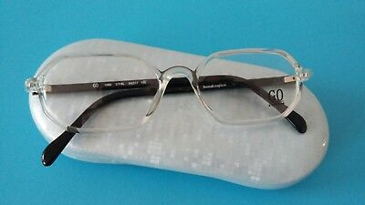 Go 1080 Black  With  Crystal  Unisex Glasses  .50/17 135  New