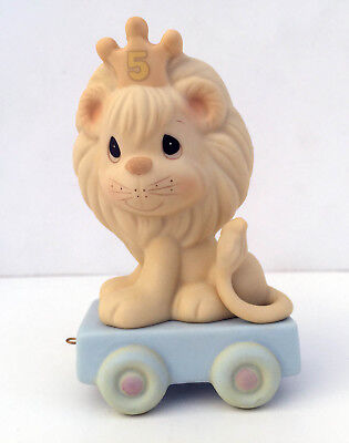 """Precious Moments """"This Day Is Something To Roar About"""" Figurine NEW IN BOX 15989"""