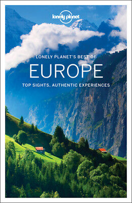 Best of Europe Lonely Planet Travel Guide 2017