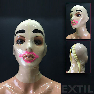 "Latexmaske ""Mangee"" Latex Maske Masque Hood Latextil     ""NEU""     ""NEW"""