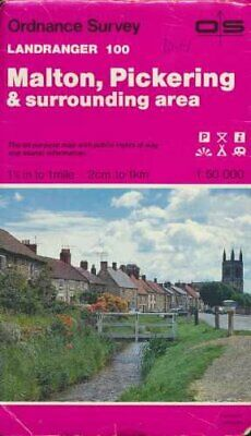 Landranger Maps: Malton, Pickering and S... by Ordnance Survey Sheet map, folded