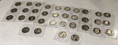 34 German 5 Marks (Still In Mint Packaging) See Pictures > No Reserve
