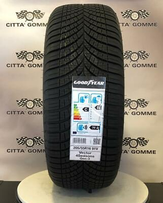 PNEUMATICI GOMME GOODYEAR VECTOR 4 SEASONS G2 M+S FO 205/55r16 91V 4 STAGIONI
