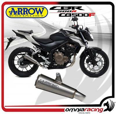 Danmoto GP Conical Exhaust Honda CB 500 F//X 2016-2017 EX1016
