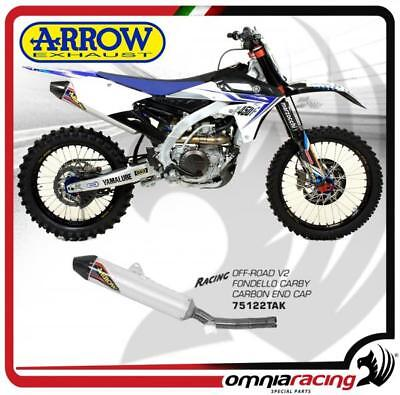 Arrow Exhaust Off-Road V2 Alu Not Approved Yamaha YZ 450 F 14>16