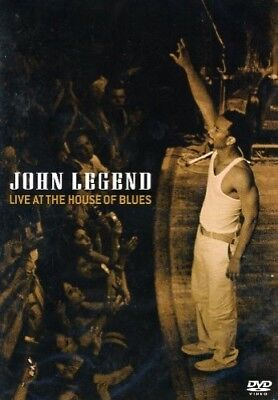 John Legend: Live At The House Of Blues [DVD] -  CD AAVG The Fast Free Shipping