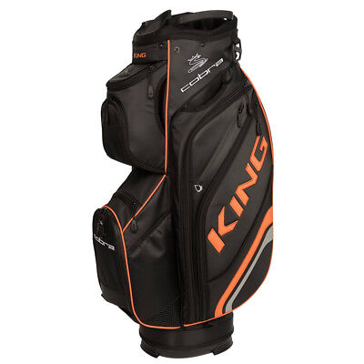 Cobra KING Premium Cartbag, Schwarz / Orange - NEU & OVP - UVP 299,00 € - SALE