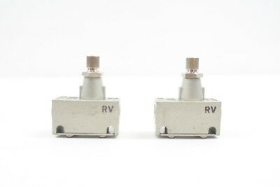 2x New Smc AS2000-01 As Speed Flow Control 1/8in Npt