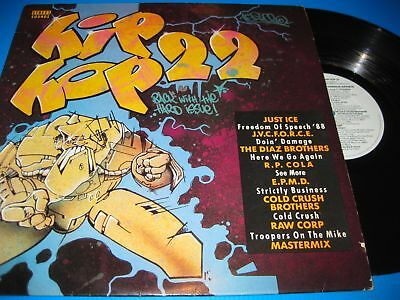 Various Artist's.street Sounds Electro Hip Hop 22.12'' Vinyl Lp