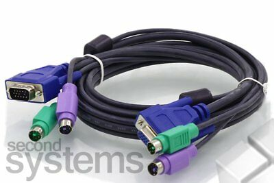 "NEW - Switch KVM Cable 3-IN-1 PS/2 - VGA 59"" - 4260113563830"