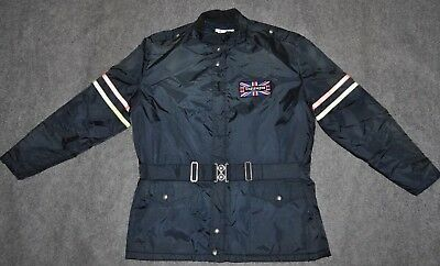 vintage ALL OUT CYCLEWEAR + TRIUMPH MOTORCYCLES 70s JACKET Insulated sz M Jacket
