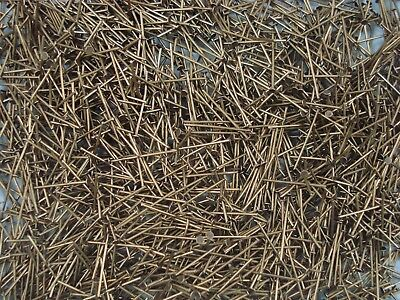 Headpins 20mm Antique Gold 450pc Findings Jewellery Head Pins FREE POSTAGE