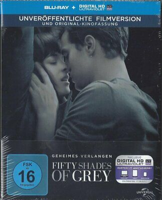 Fifty Shades of Grey 1 - Geheimes Verlangen / Steelbook # BLU-RAY-NEU