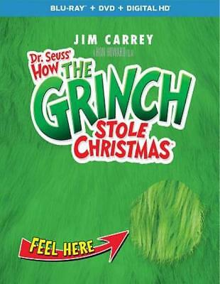 Dr. Seuss - How The Grinch Stole Christmas New Blu-Ray Disc